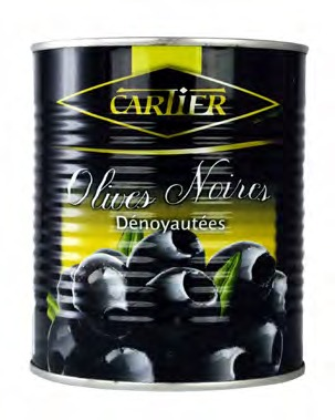CARTIER BLACK PITTED OLIVES (TIN)(1)