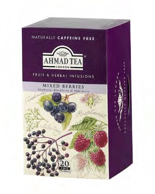 AHMAD TEA MIXED BERRIES TEA BAGS (005)
