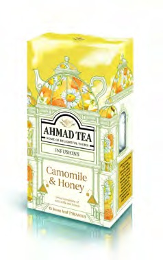 AHMAD TEA PYRAMID TB CAMOMILE & HONEY [1561]