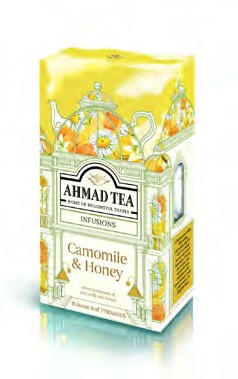AHMAD TEA CAMOMILE & HONEY & VANILLA [1787]