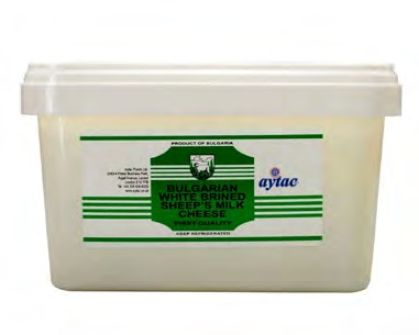 BULGARIAN SHEEP CHEESE (PVC)