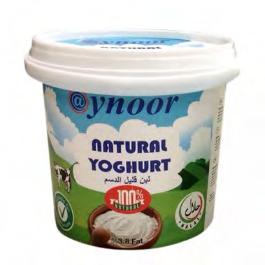 AYNOOR NATURAL YOGHURT (%3.8 FAT)