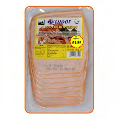 AYNOOR SLICED CHICKEN BREAST